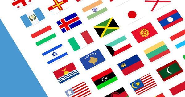 Giá trị đại diện của mỗi lá quốc kì