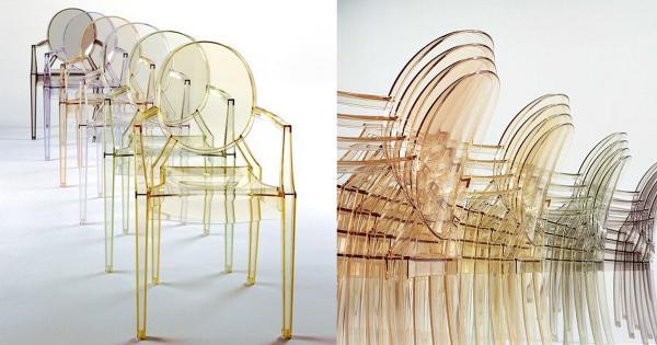 5 sự thật thú vị về ghế Louis Ghost - thiết kế huyền thoại của Philippe Starck