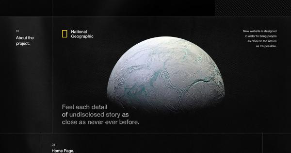 Cảm hứng UX/UI: Thiết kế thay đổi trực quan cho trang National Geographic