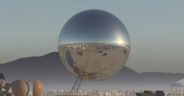 Tìm hiểu về quả cầu khổng lồ The ORB tại Burning Man 2018