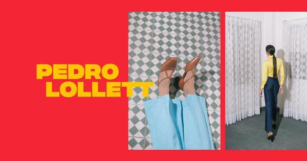 Bộ nhận diện nổi bật của thương hiệu Pedro Lollett