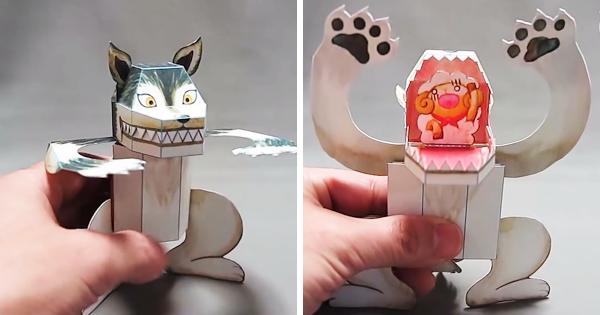 Những món đồ chơi bằng giấy được thổi hồn bởi nghệ sĩ Haruki Nakamura