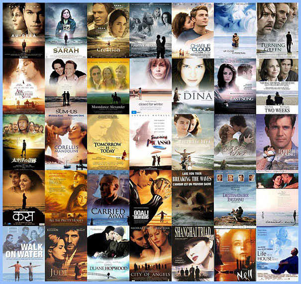 christophe courtois movie poster cliches big heads 1 1