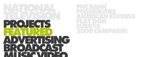 20 thiết kế Flash Website theo trường phái Minimalism