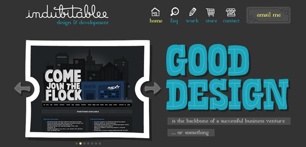45 thiết kế web sử dụng typography xuất sắc (p2)