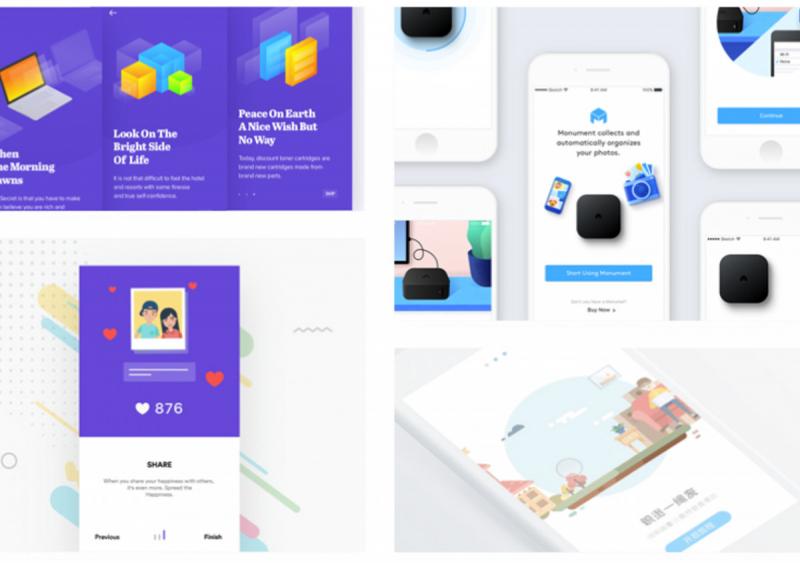 Những thiết kế trên mobile gợi cảm hứng