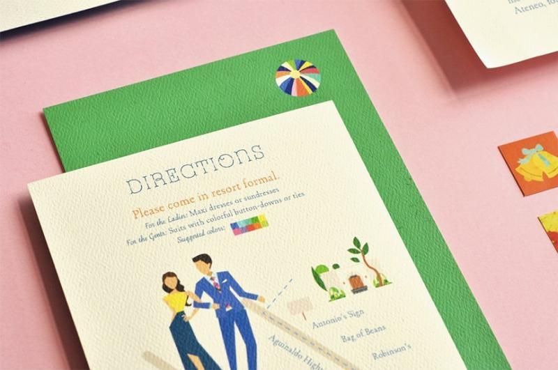 20 thiết kế thiệp mời hay ho dành cho tiệc cưới
