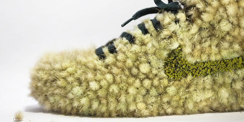 """""""Just grow it"""" - Khi giày Nike phủ đầy hoa lá"""