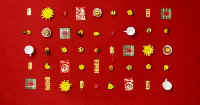 Thơm lừng bánh quy Tết trong lyrics video của Kinh Đô