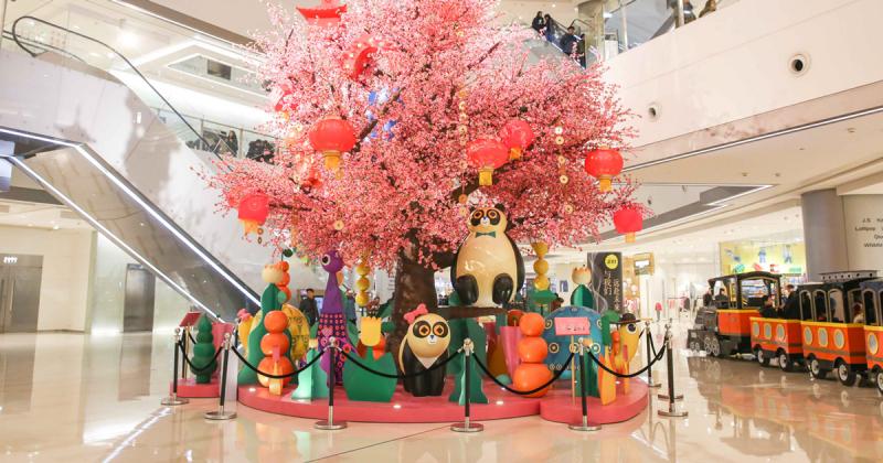 Tưng bừng không khí Tết tại khu phức hợp mua sắm IFS - Thành Đô, Trung Quốc
