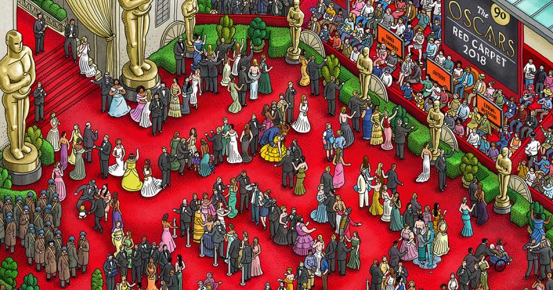 Mê cung đề cử của giải Oscar lần thứ 90