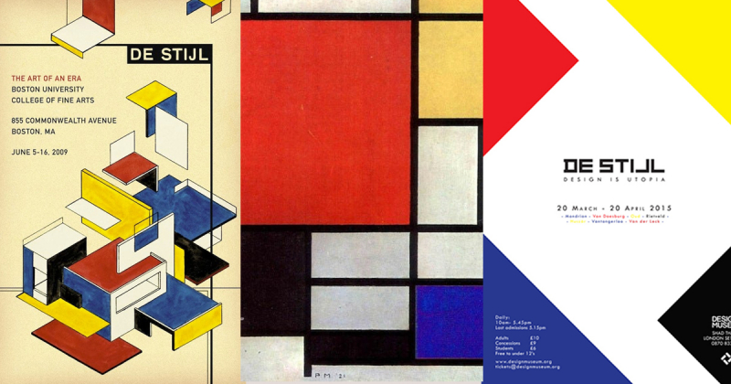 De Stijl - Nơi giao thoa giữa nghệ thuật ứng dụng và kiến trúc