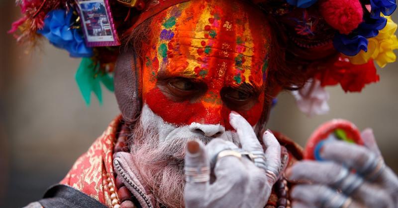 Các bức chân dung từ lễ hội Maha Shivaratri