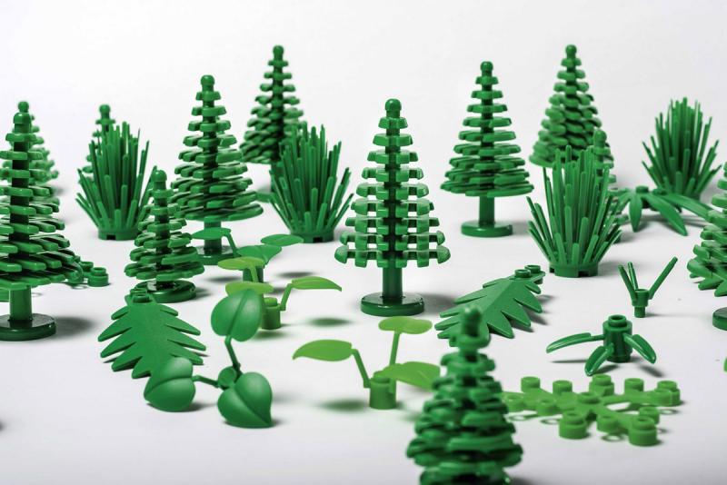 """LEGO sẽ tung ra các mảnh ghép hình làm từ """"nhựa mía"""" trong năm 2018"""