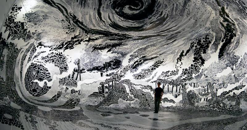 """Đắm chìm trong tác phẩm """"Paradies"""" huyền diệu của nghệ sĩ Oscar Oiwa"""
