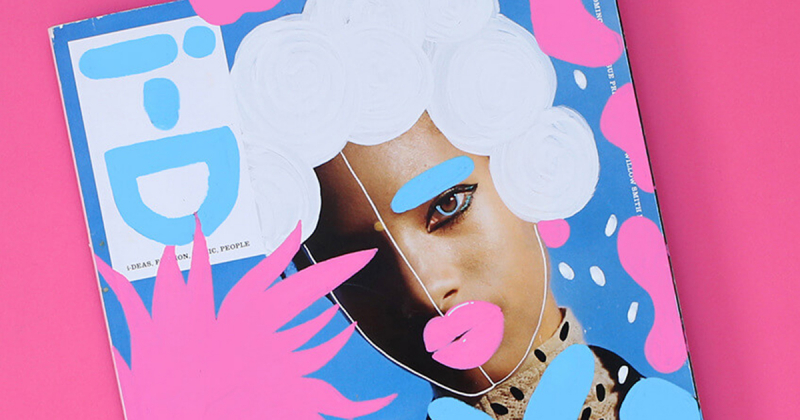 Minh hoạ thời trang trừu tượng của Andreea Robescu