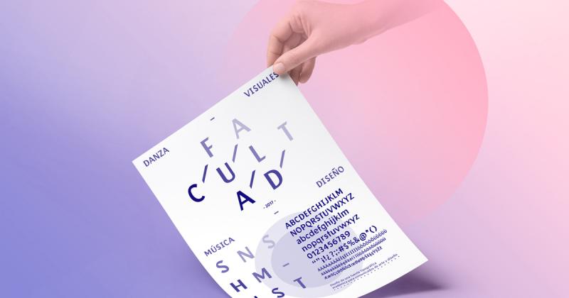 Typeface Facultad - Bộ chữ học thuật dành cho nhà thiết kế