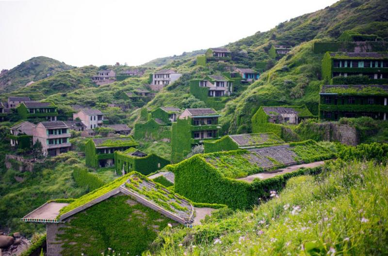 Làng chài Trung Quốc bị bỏ hoang 30 năm đẹp như cổ tích