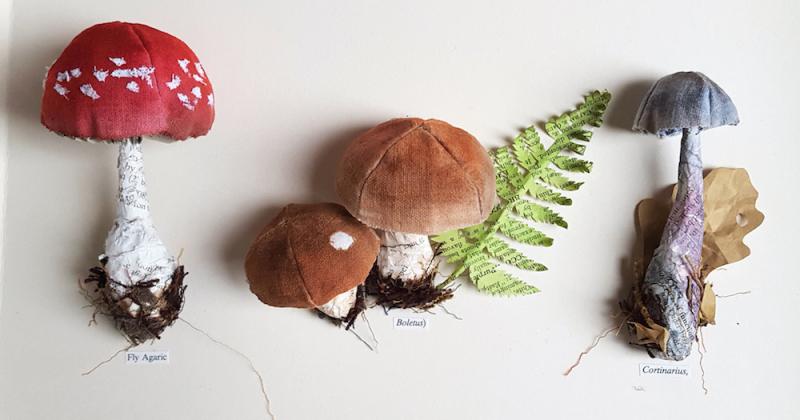 Kate Kato và tạo hình thiên nhiên bằng giấy tái chế