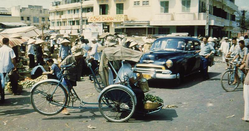Hình ảnh Việt Nam xưa qua chất phim cổ điển