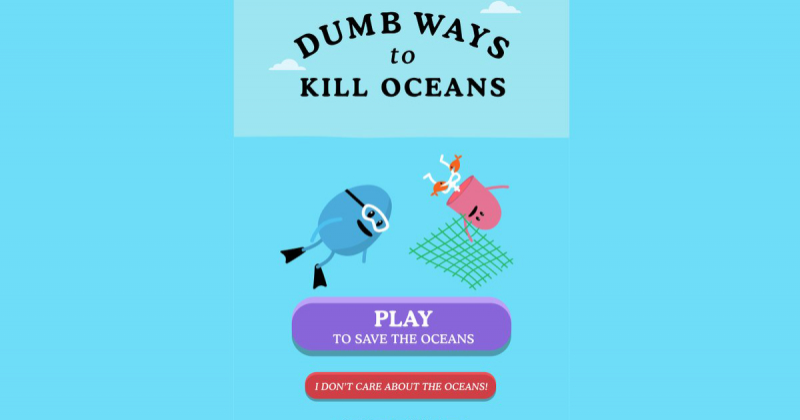 """Game """"Dumb Ways to Die"""" ra mắt phiên bản """"Dumb ways to kill Oceans"""""""