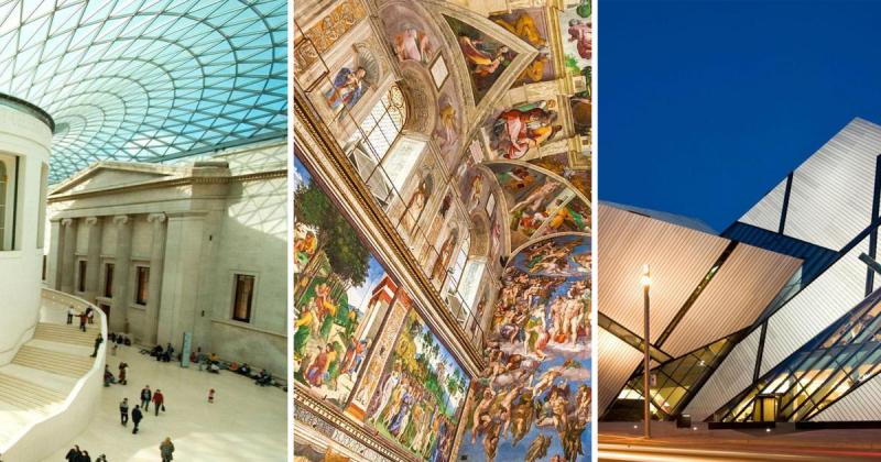 10 viện bảo tàng nổi tiếng thế giới