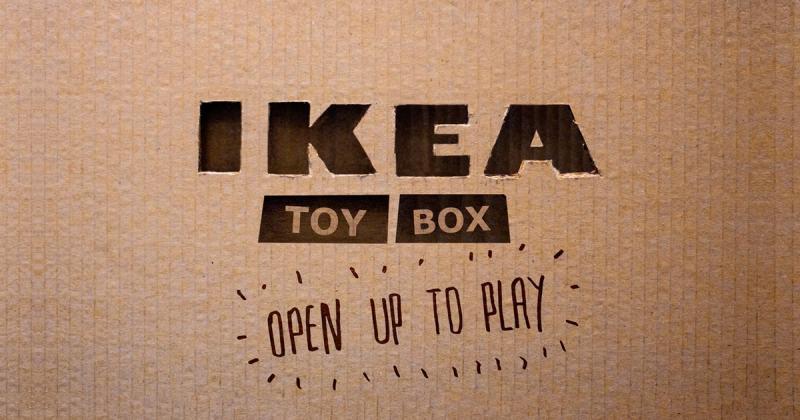 Ứng dụng mới của Ikea biến hộp các tông cũ thành đồ chơi cho trẻ em