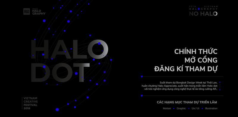 4 hạng mục tham dự Halo-Dot 2018