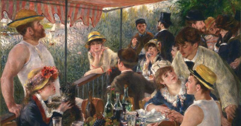 """Câu chuyện đằng sau tuyệt tác """"Luncheon of the Boating Party"""" của Renoir (P1)"""