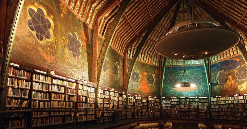 Thư việnBodleian lâu đời cổ kính bậc nhất ở Oxford