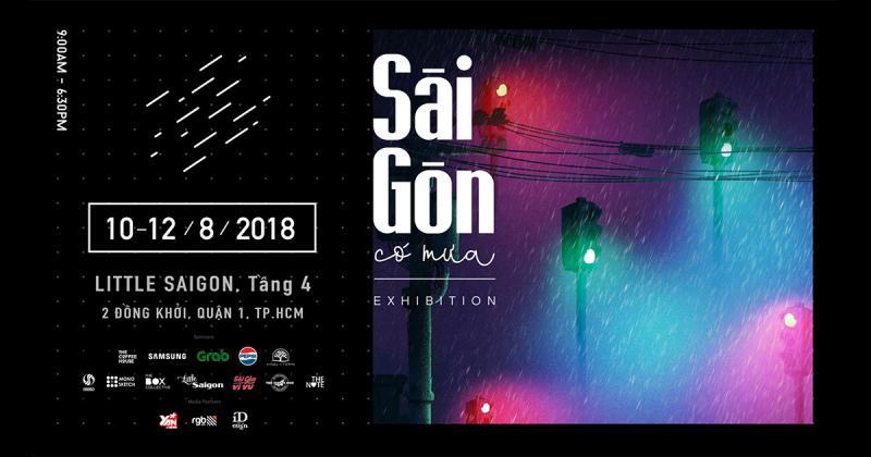 """Triển lãm """"Sài Gòn có mưa"""": Khi người Sài Gòn kể chuyện bằng những cơn mưa"""