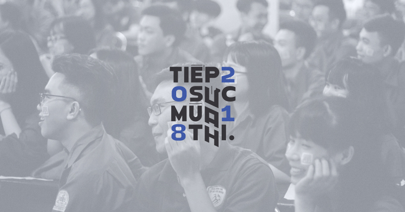 """Bộ nhận diện """"Tiếp sức mùa thi"""" của trường Đại học Kiến trúc TP. Hồ Chí Minh"""