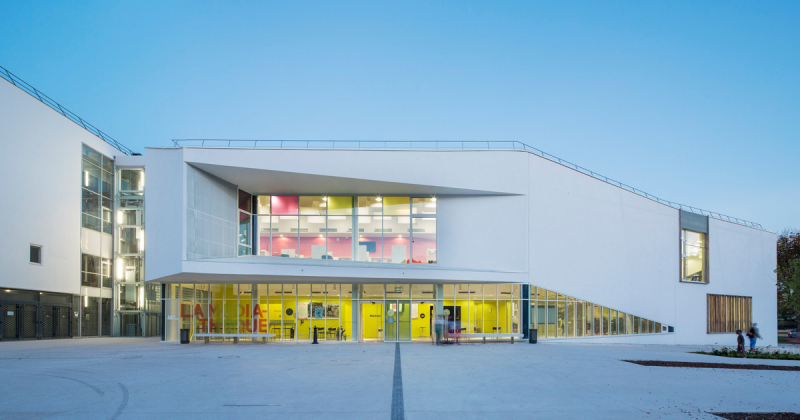 Thư viện đa phương tiện Chelles với tham vọng kết nối cộng đồng
