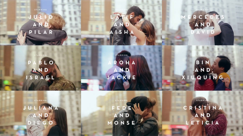 Khi những nụ hôn ngoài đời đẹp như trong phim