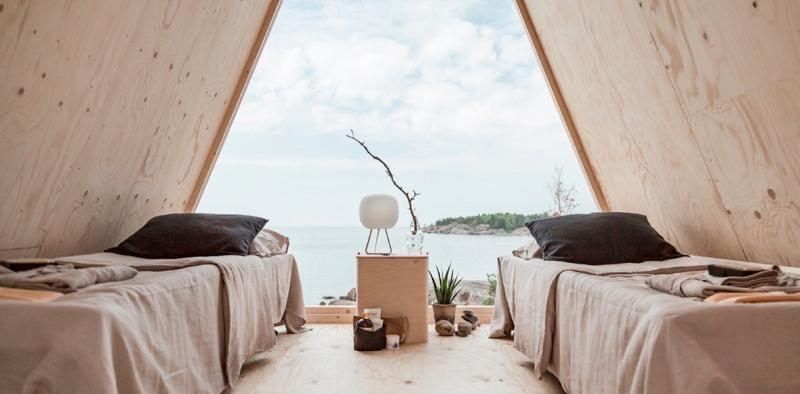 Thiết kế cabin zero-waste đang làm mưa làm gió tại Phần Lan