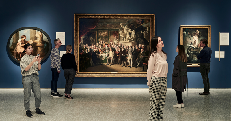 Giới thiệu triển lãm tại Học viện Nghệ thuật Hoàng gia London năm 2019