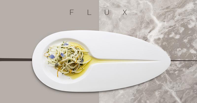 Flux - Chiếc đĩa kết hợp 'dòng chảy' thời gian khi thưởng thức ẩm thực