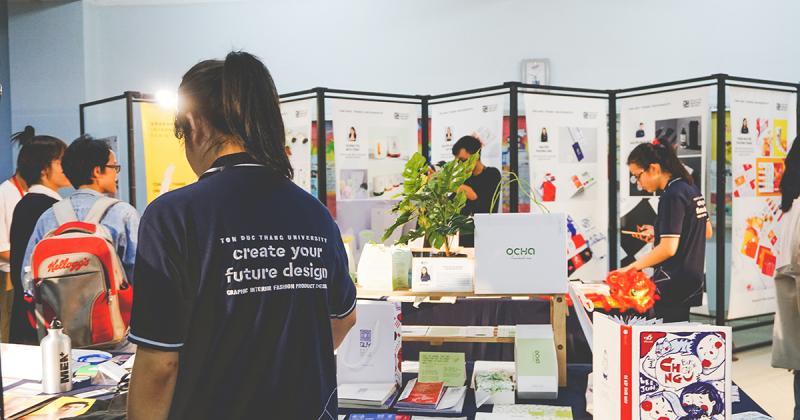 Ghé thăm triển lãm đồ án tốt nghiệp GRADSHOW 2018 của trường đại học Tôn Đức Thắng