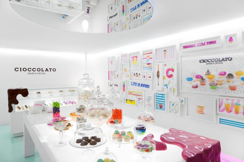 Cioccolato - Bộ nhận diện độc đáo cho tiệm bánh ngọt ngào