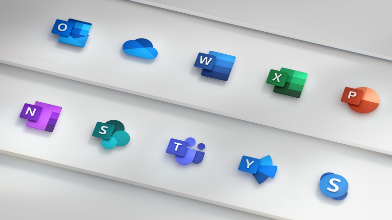 Cú lột xác của Microsoft Office với bộ icon hoàn toàn mới
