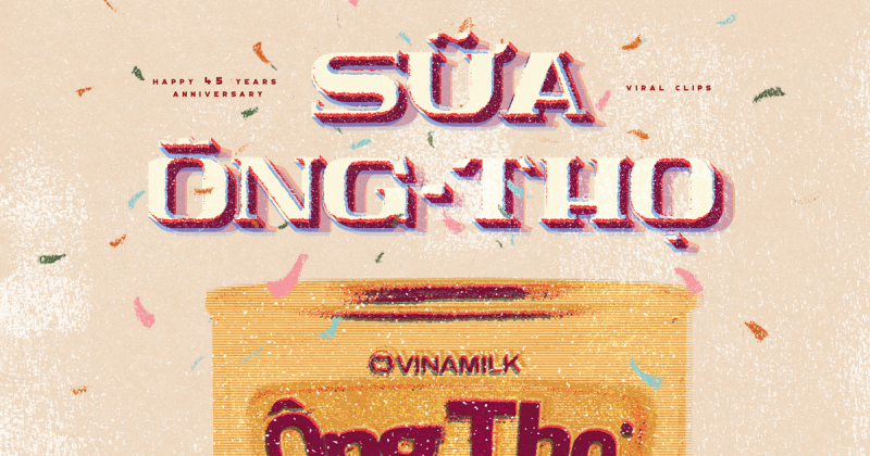 Dự án kỷ niệm 45 năm Sữa Ông Thọ ra đời kể về những trò chơi dân gian lớn lên cùng lon sữa