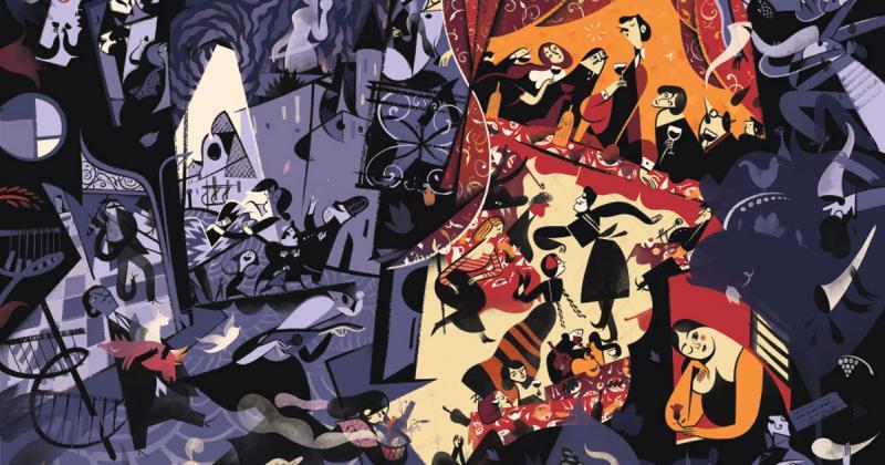 Nghệ sĩ của tuần: Roman Muradov mang âm hưởng jazz vào tranh vẽ