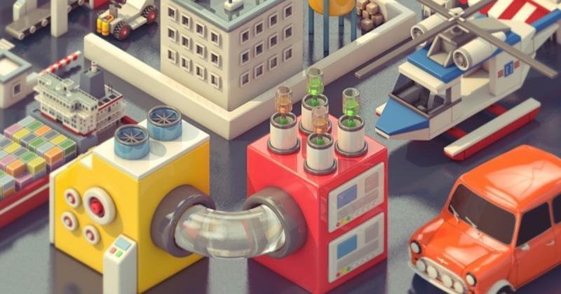 Pixego vẽ nên thế giới thực từ trò chơi xếp hình Lego