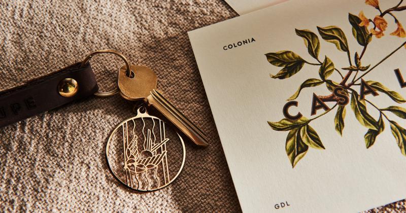 Bộ nhận diện phong cách Art Deco cho khu trọ Airbnb