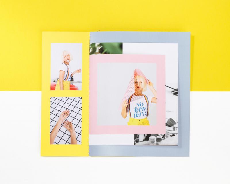 Thiết kế sách nhẹ nhàng đầy màu sắc của Max Wanger 2017