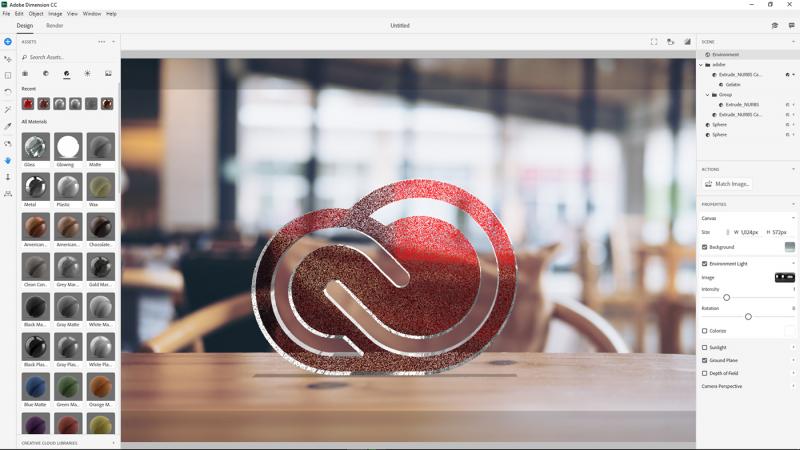 Adobe Dimension - Giải pháp 3D cho người thiết kế đồ họa