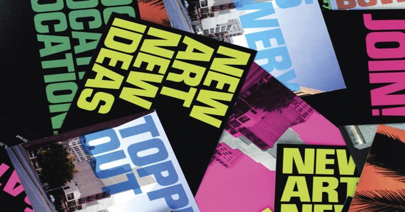 Lịch sử 40 năm The New Museum qua các ấn phẩm thiết kế đồ họa