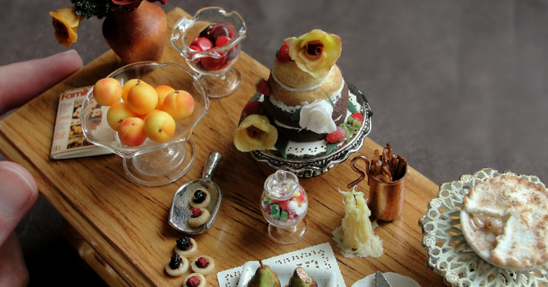Cùng ngắm nhìn thế giới ẩm thực tí hon đầy thoả mãn của Fairchildart