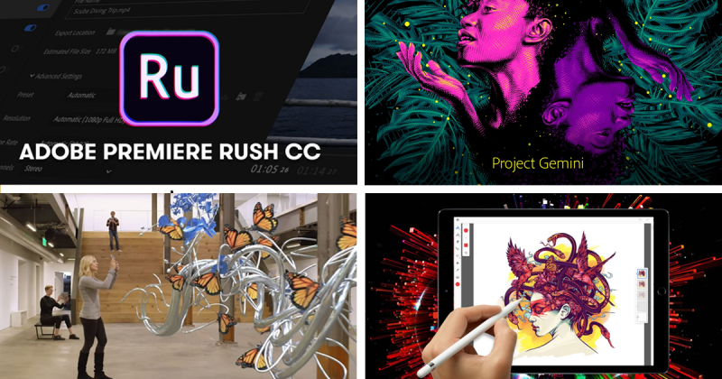 Adobe ra mắt 4 sản phẩm mới: Kỷ nguyên của thiết kế digital và video