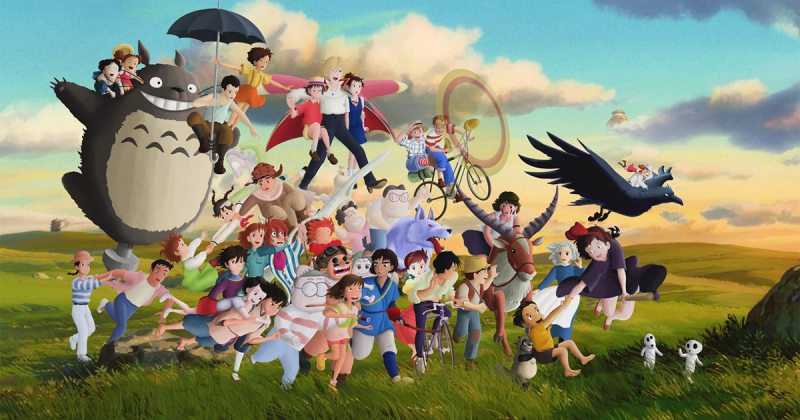 2022 là năm Studio Ghibli mang cả thế giới trong phim ra đời thực